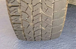 Bad Wheel Alignment