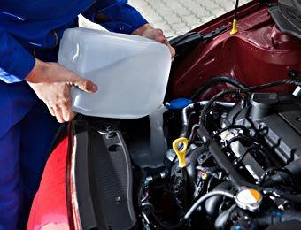 Top Up Car Fluids
