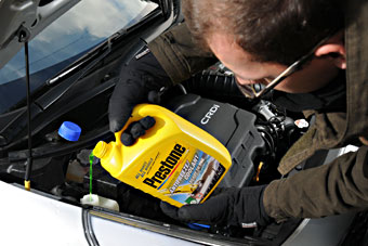 Adding Car Anti Freeze