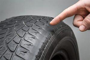 Tyre Side Worn